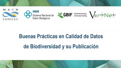 Buenas Prácticas en Calidad de Datos de Biodiversidad y su Publicación